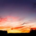 Sonnenuntergang in Hellberg
